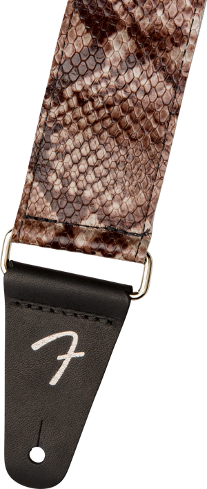 Fender Snakeskin Leather Strap