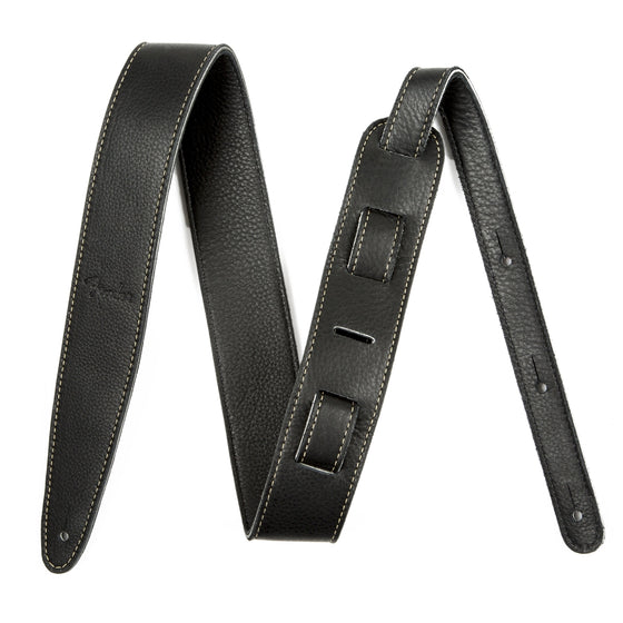 Fender Artisan Leather Strap, Black