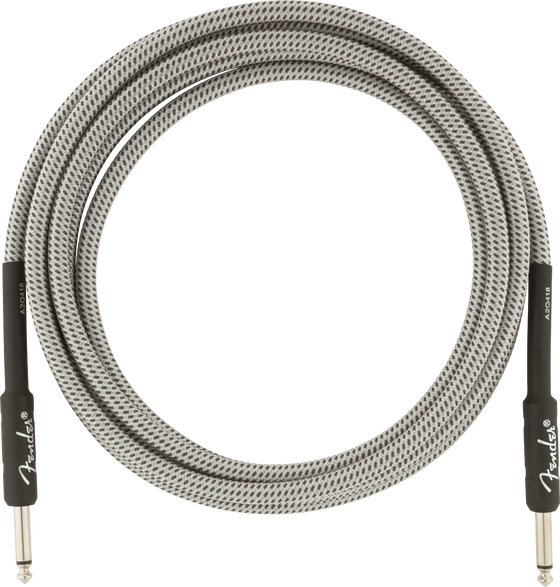 Fender PRO 10' INST CABLE WHT TWD