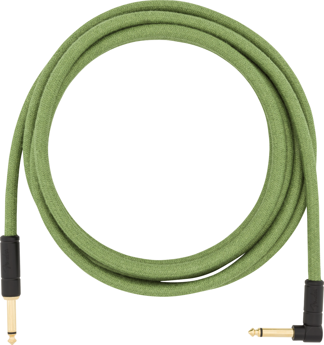 Fender 10' ANGLE CABLE, GREEN