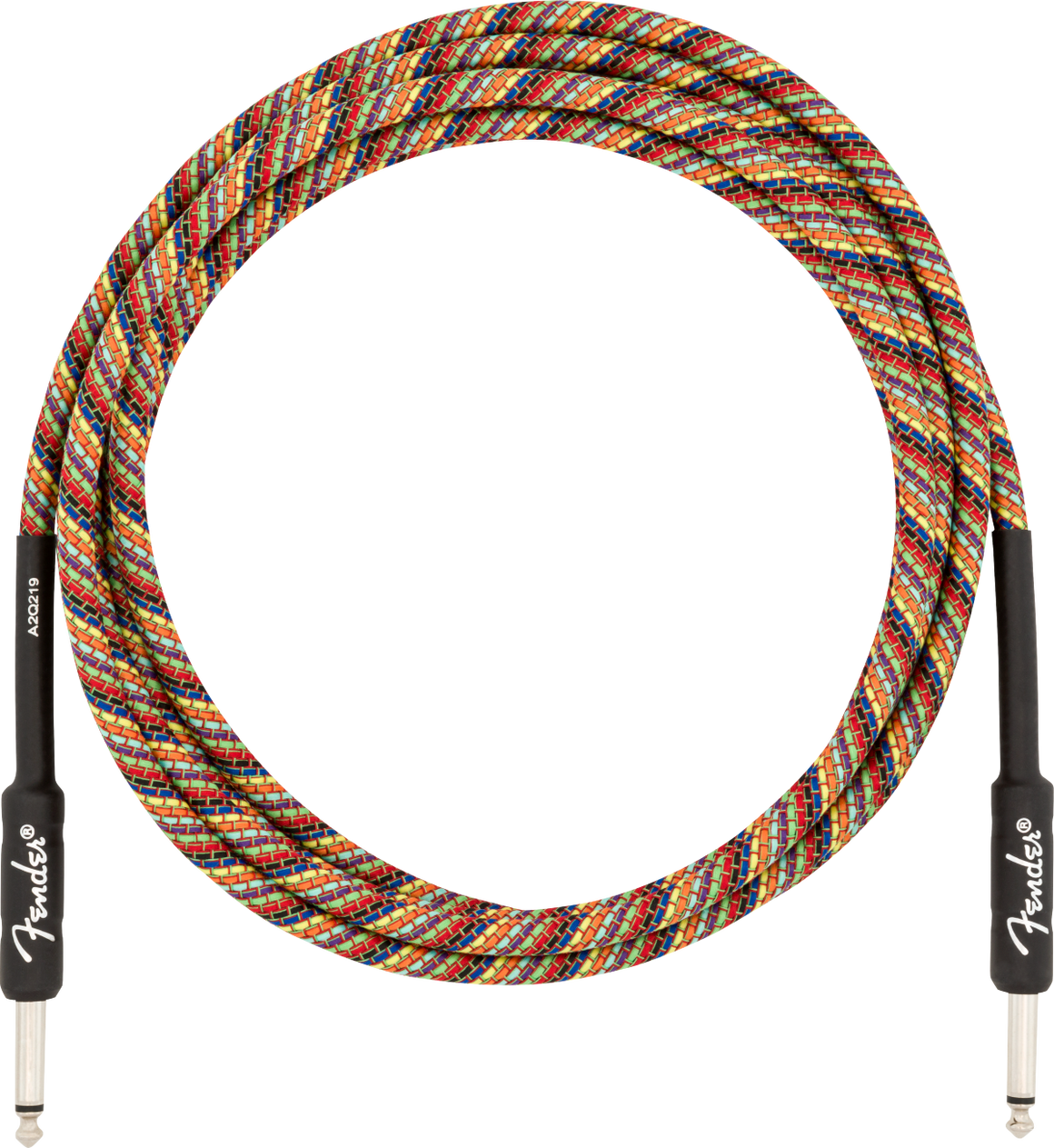 Fender 10' INST CABLE, RAINBOW