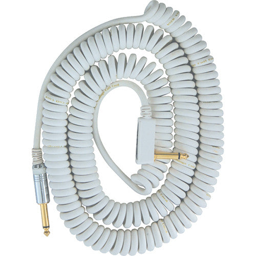 VOX Vintage Coiled Cable 30' White