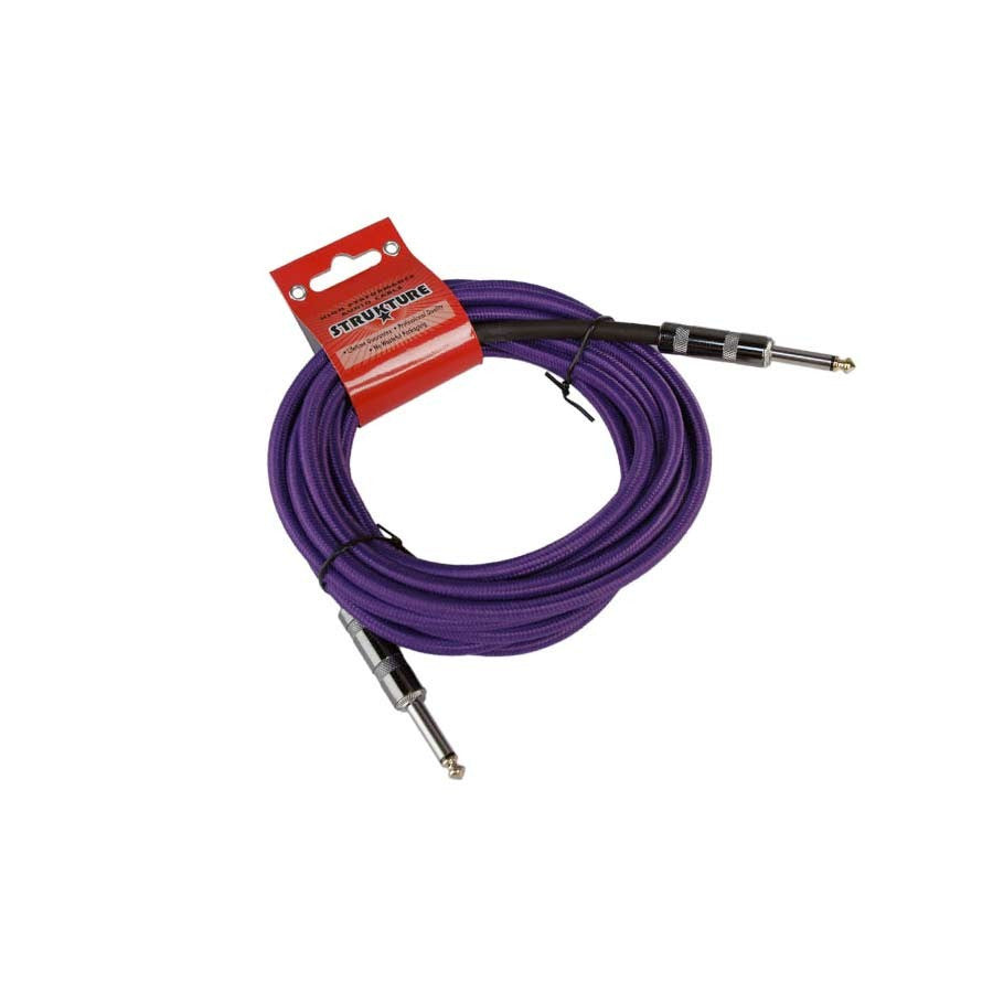 "Strukture SC186PP 18.6' 1/4"" Instrument Cable Purple"