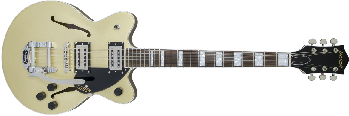 G2655T Streamliner Center Block Jr. with Bigsby, Broad'Tron Pickups, Golddust