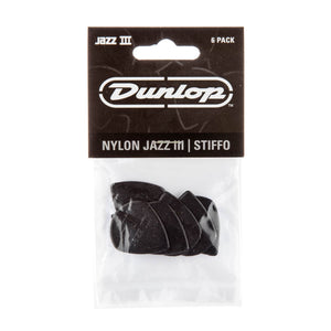 Dunlop Jazz III 6-Pack Black