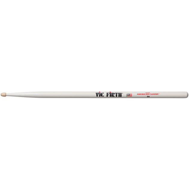 Vic Firth 5A Hickory White
