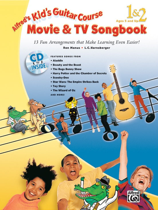 Alfred's Kid's Movie & TV Songbook