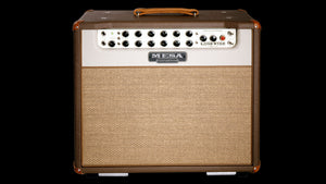 Lone Star Special 1X12 Combo Guitar Amplifier Cocoa Vinyl Cream Front Panel Tan Grille - Front