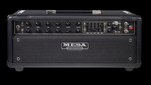 Express 550 Plus Guitar Amplifier Head Black Vinyl Black Grille - Front