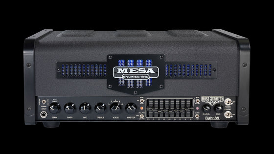 Strategy Bass Eight:88 Bass Amplifier Head - Front
