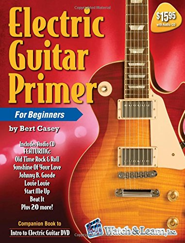 Electric Guitar Primer Book/CD