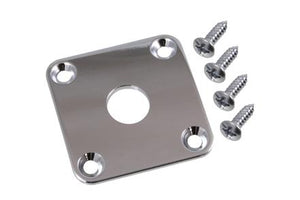 Jackplate for Les Paul Square Nickel