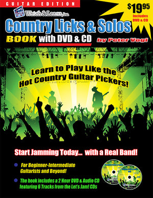 Country Licks and Solos w/ DVD
