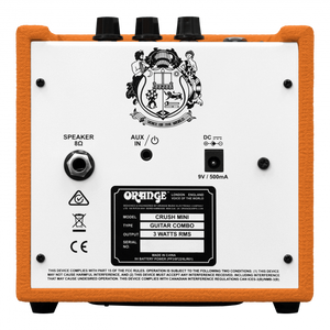 Orange Crush Mini Amplifier
