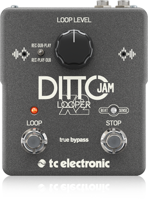 TC Electronic Ditto Jam X2 Looper Pedal