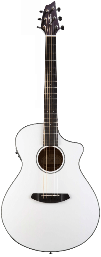 Breedlove Discovery Concert CE White
