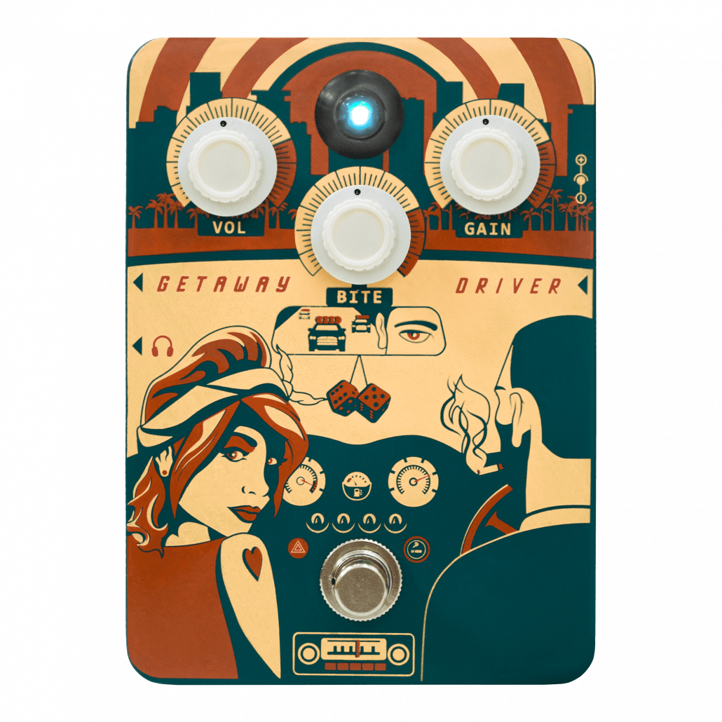 Getaway Driver Overdrive Pedal