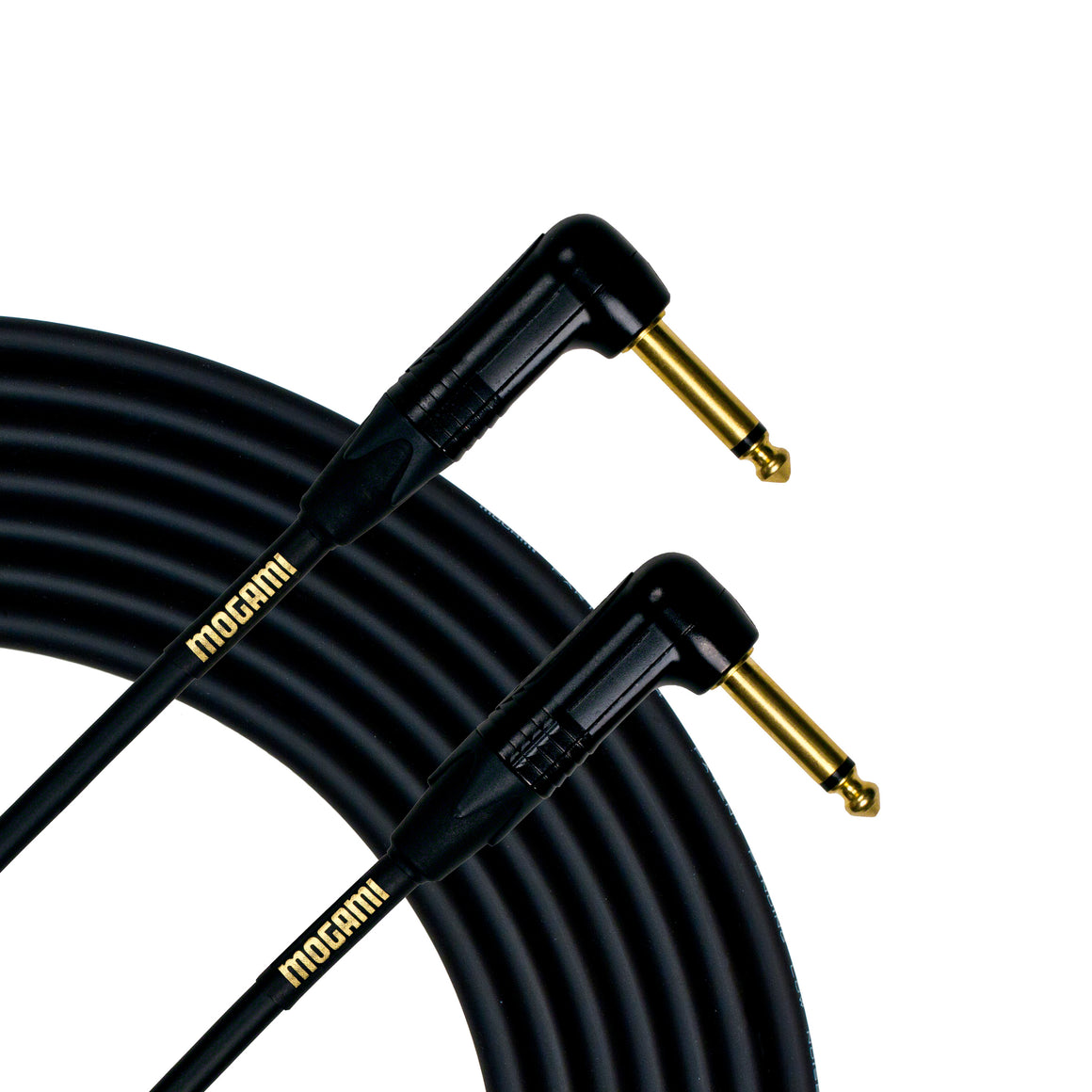 "Mogami Gold Instrument Cable 1.5RR, 1/4"" TS, 1.5' length, RA - RA"