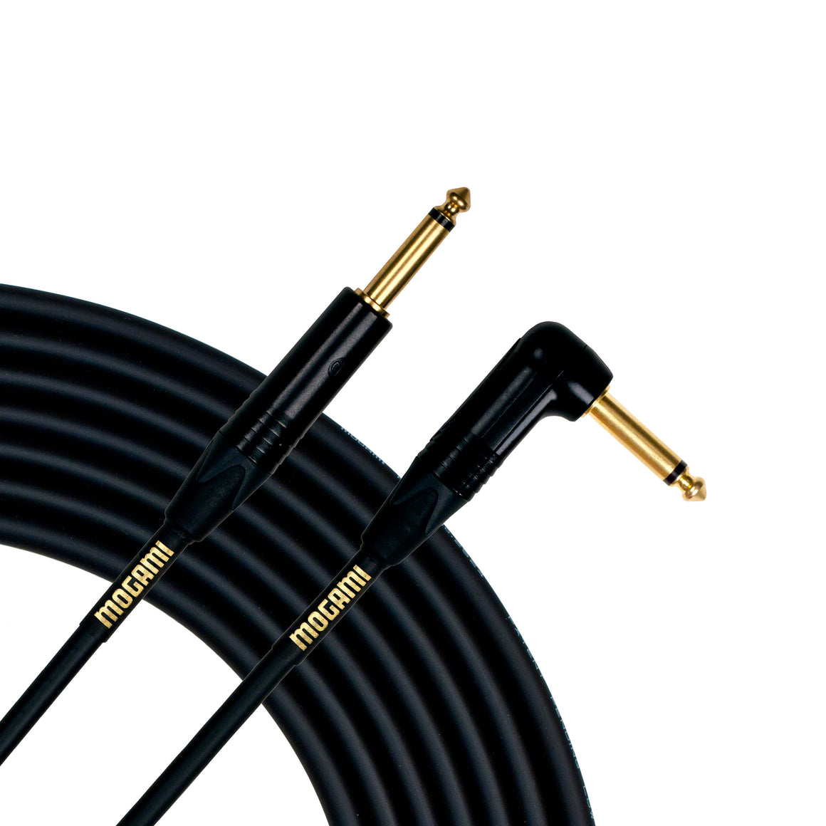 "Gold Instrument Cable 25R, 1/4"" TS, 25' length, Straight - RA"