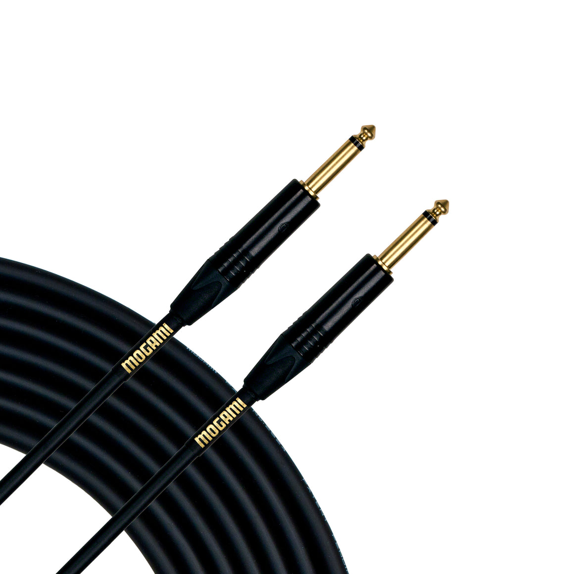 "Mogami Gold Instrument Cable 10, 1/4"" TS, 10' length Straight - Straight"