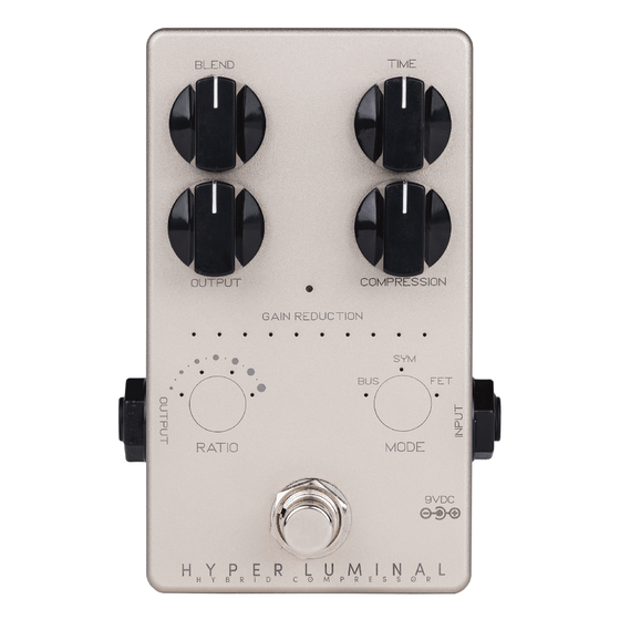Darkglass Hyper Luminal Hybrid Bass Compressor