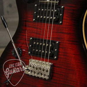 SE Custom 24 Lefty - Fire Red