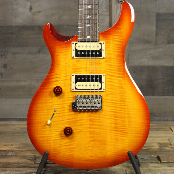 SE Custom 24 Lefty - Vintage Sunburst