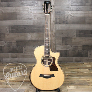 2018 Taylor 812ce 12-fret DLX - Rosewood Back and Sides
