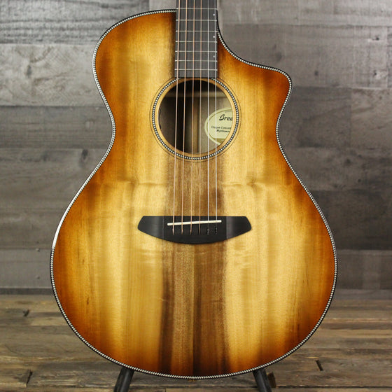 Breedlove Oregon Concert - Cinnamon Burst CE