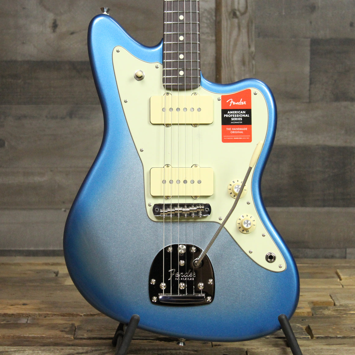 Fender Limited Edition American Professional Jazzmaster Rosewood Neck - Sky Blue Metallic