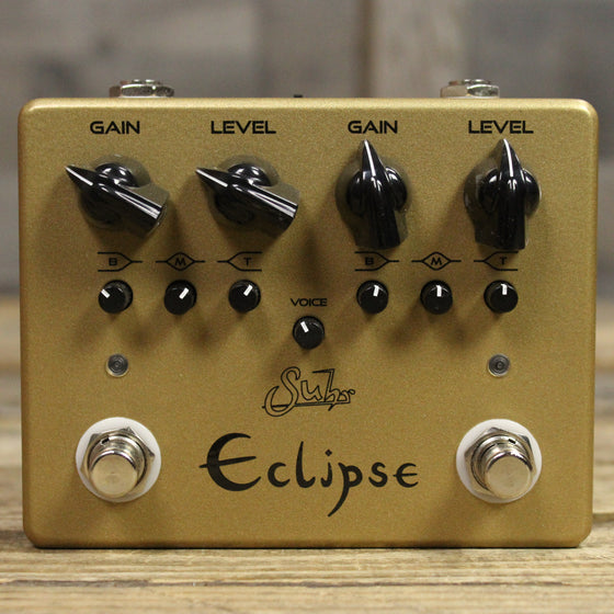Suhr Limited Edition Eclipse Dual-Channel Overdrive/Distortion Pedal