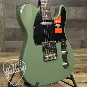 Fender Limited Edition American Professional Telecaster Rosewood Neck - Antique Olive