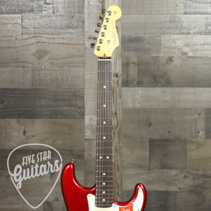 Fender American Pro Stratocaster, Candy Apple Red, RW