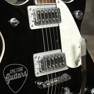 Gretsch G5445T Double Jet with Bigsby, Rosewood - Black