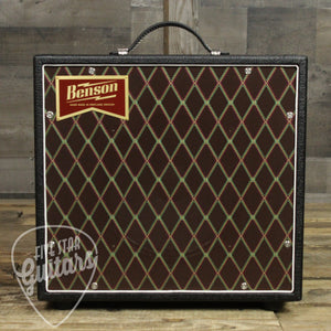 Benson Amplifiers Nathan Junior Reverb 5W 1x10 Combo Guitar Amplifier Black Tolex with Diamond Grill