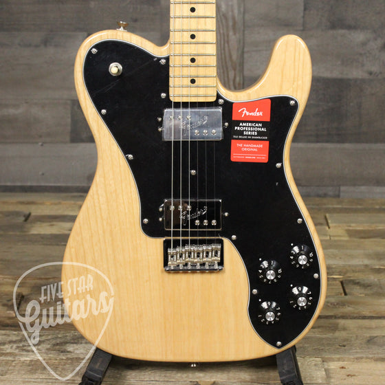 Fender American Pro Telecaster Deluxe ShawBucker, Maple Fingerboard, Natural B-Stock