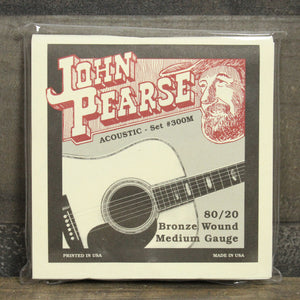 John Pearse JP 300M 80/20 Acoustic Guitar Strings - 13/56