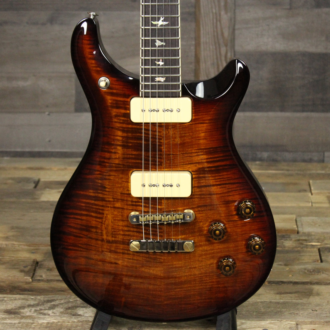 PRS McCarty 594 Soapbar Black Gold Burst