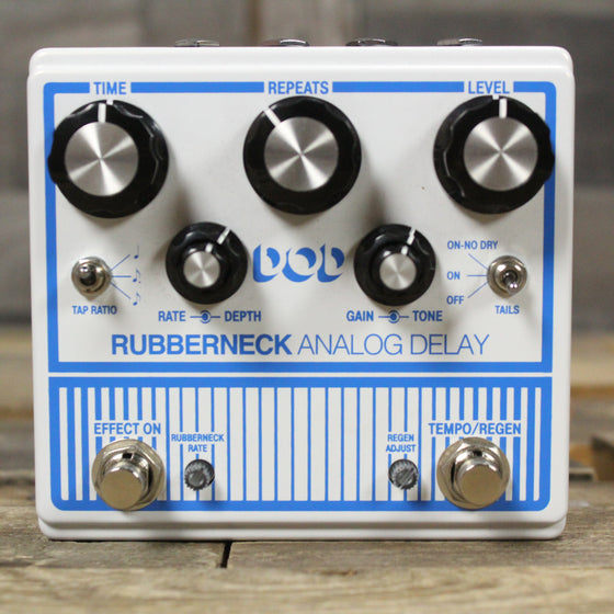 Pre-Owned DOD Rubberneck Analog Delay Pedal with Tap Tempo
