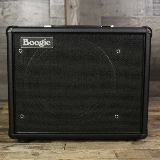 Mesa Boogie Thiele 1x12 Front-Ported Compact Cab, Black, Boogie Logo