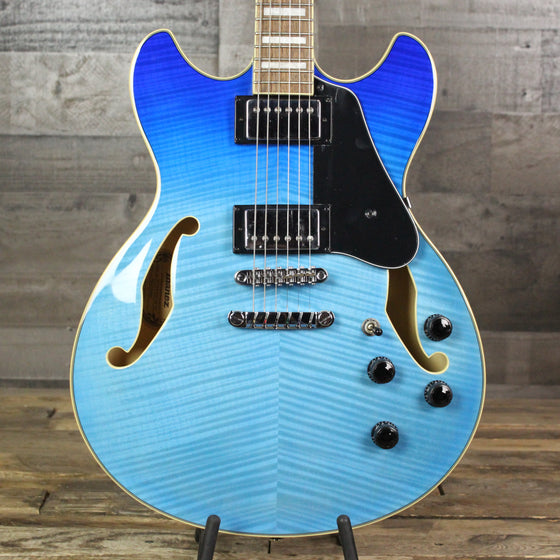 Ibanez AS73FM Semi-Hollow - Azure Blue