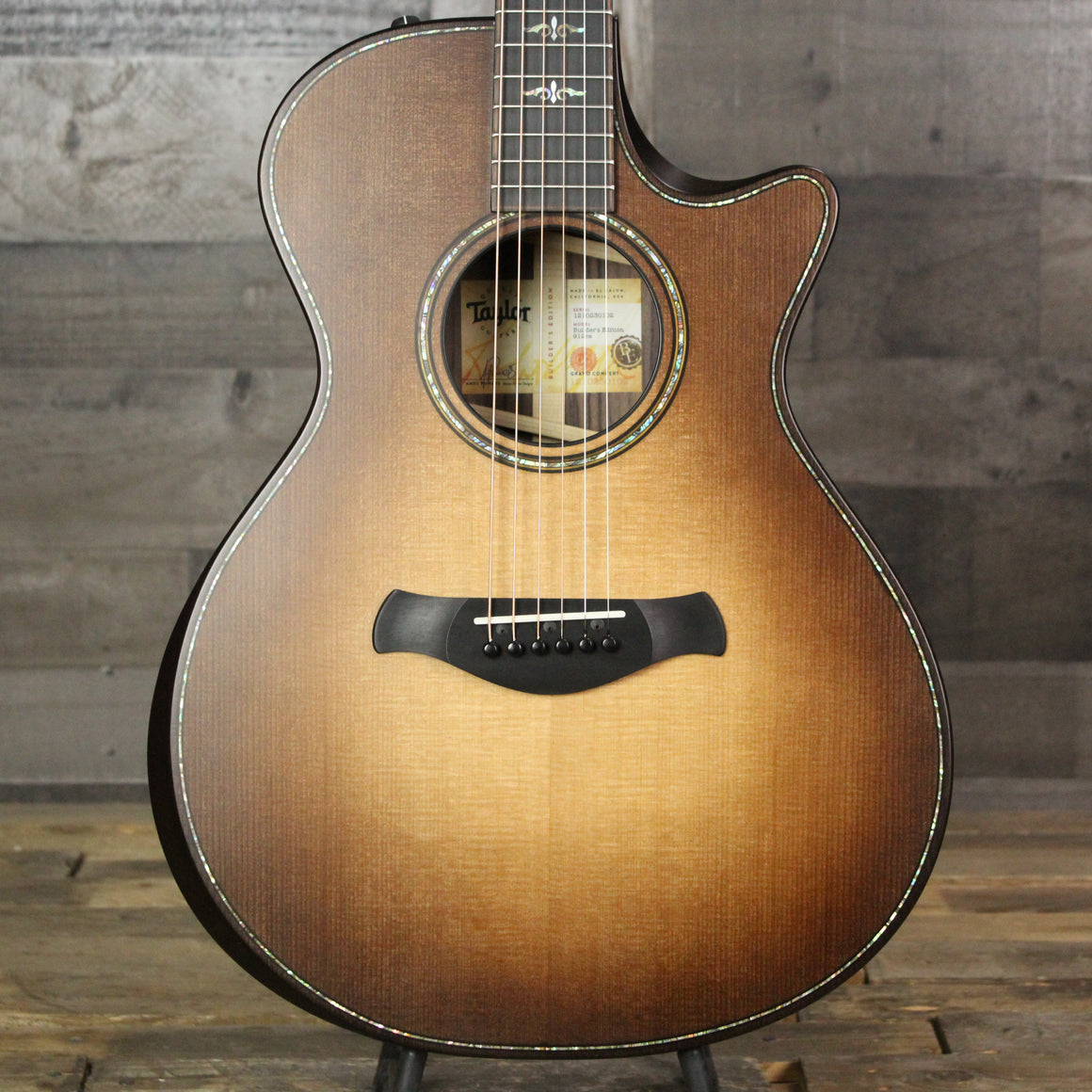 Taylor Builder's Edition 912ce Wild Honey Burst
