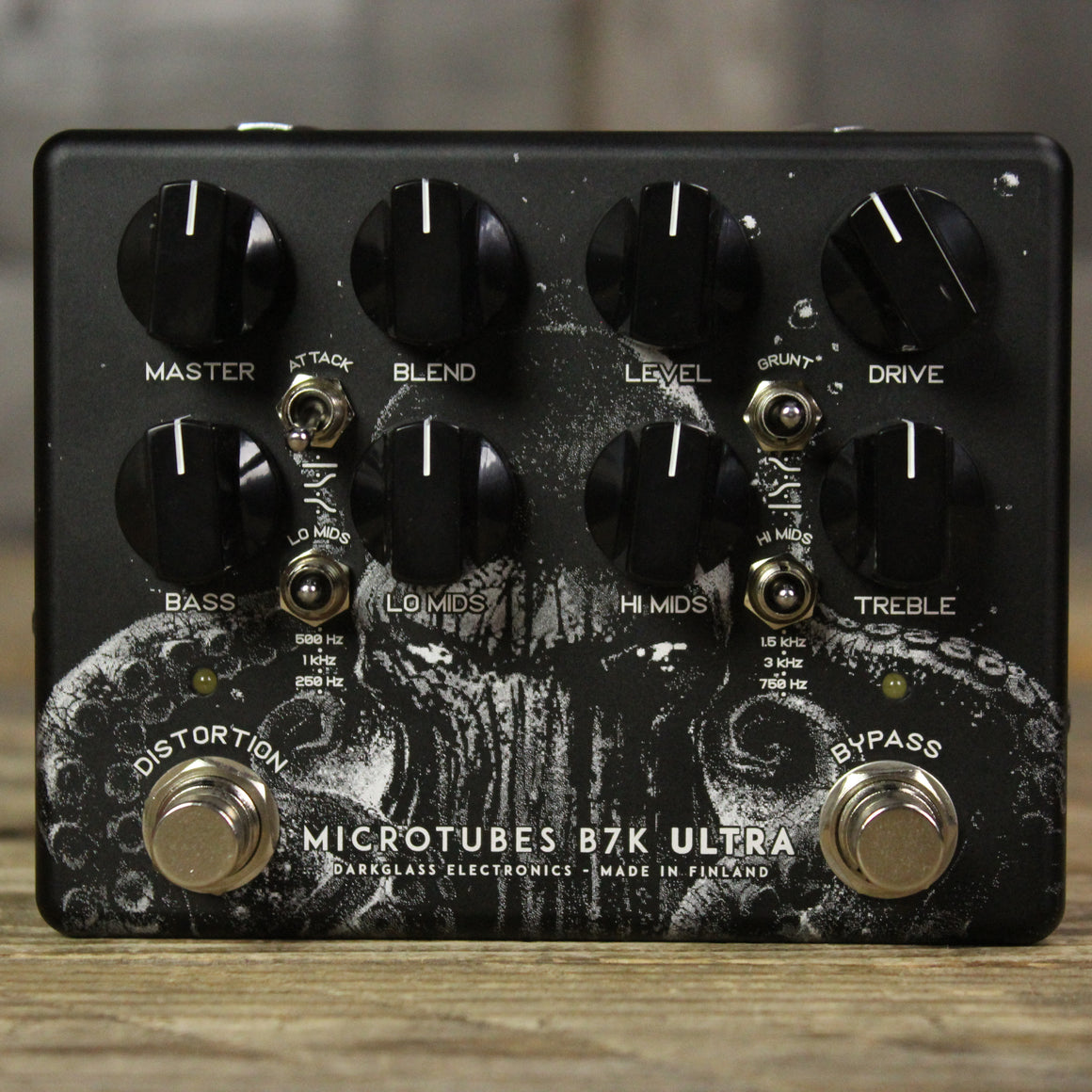 "Darkglass MicroTubes B7K ULTRA V2 ""THE SQUID"" Limited Edition"