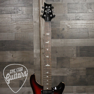 PRS SE Custom 24 Fire Red Burst