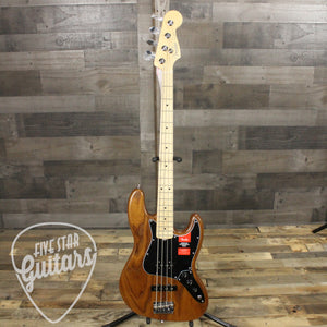 Fender Limited Edition American Professional Jazz Bass, Natural Roasted Ash, Maple Neck