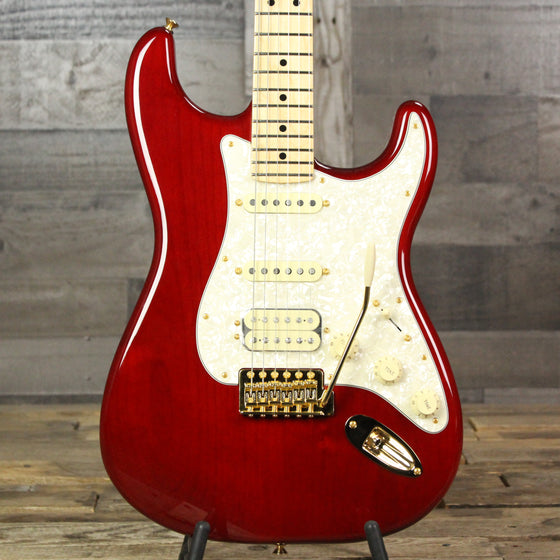 Fender Tash Sultana Stratocaster®, Maple Fingerboard - Transparent Cherry