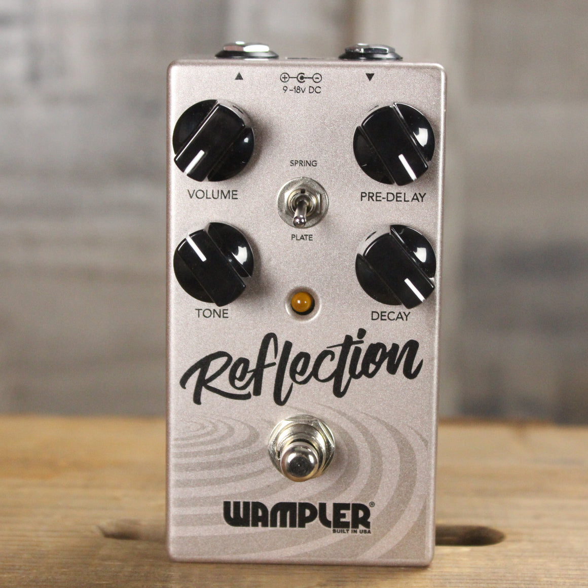Pre-Owned Wampler Reflection Reverb Pedal