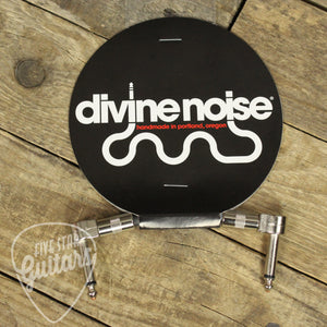 Divine Noise Teenie 4in. Patch Cable - Right Angle, Right Angle
