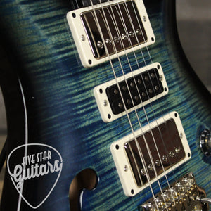 PRS Semi Hollow Special 22 River Blue Smokewrap Burst