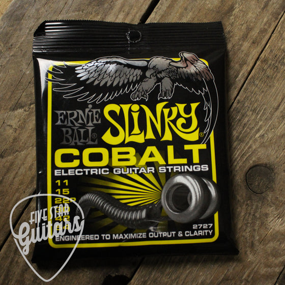 Ernie Ball Cobalt Beefy Slinky Electric Guitar Strings